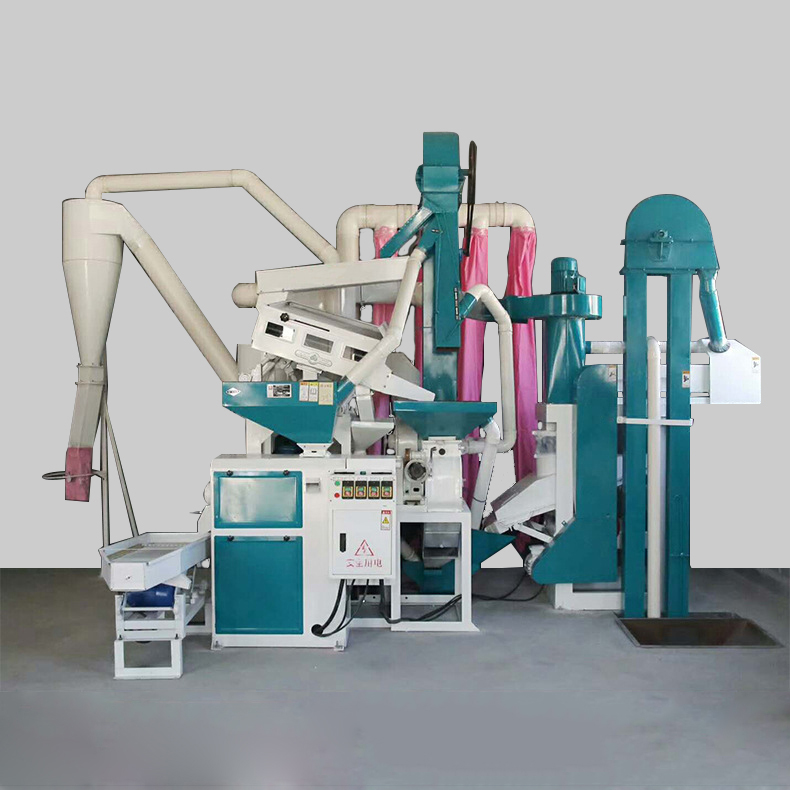 Small rice processing equipment
